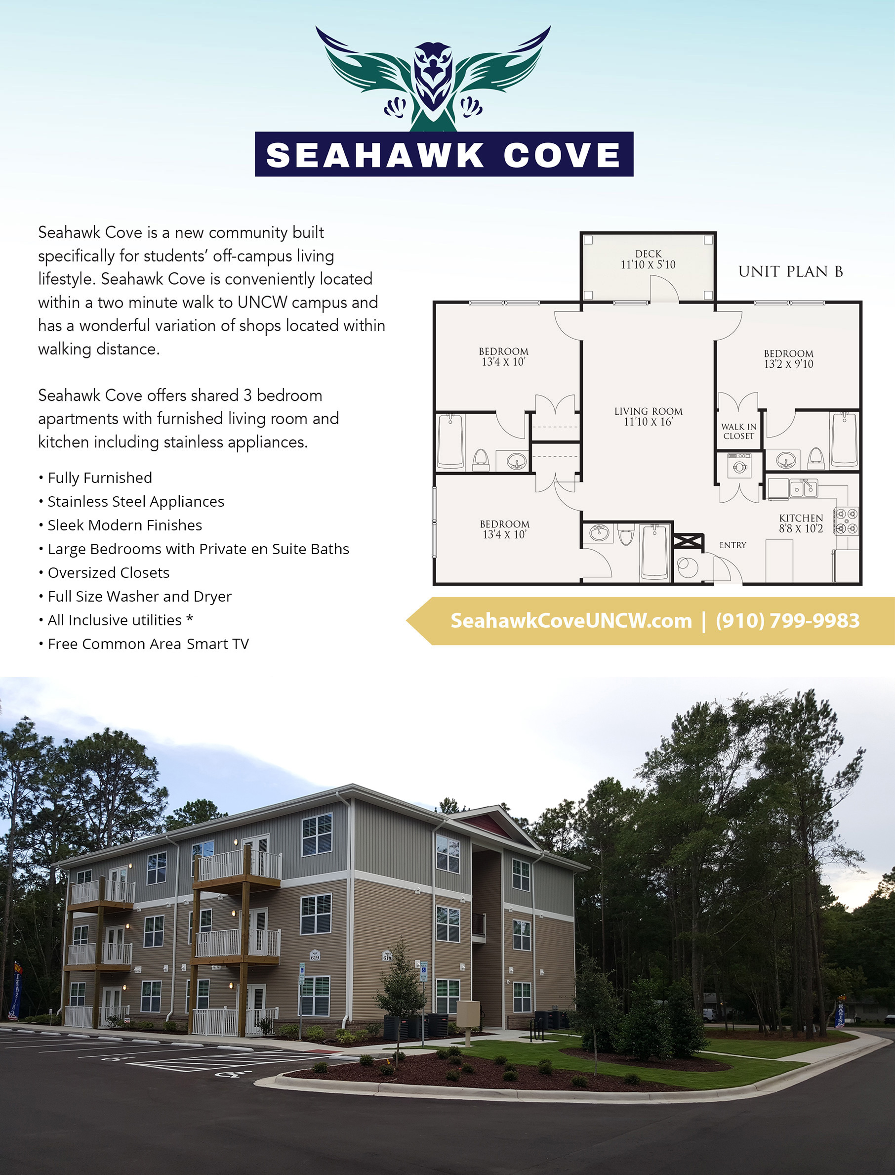 Seahawk Cove Student Living
